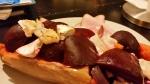 Crockpot – Gratinerad butternut squash med rödbetor ochchevre
