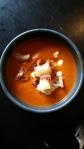 Crockpot – Mustig tomatsoppa med stekt halloumi