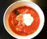 Crockpot – Värmande fiskgryta med tomat och zucchini