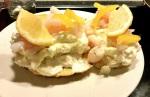 LCHF Smörgåstårta medräkor