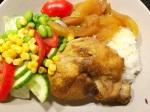 Crockpot-Kyckling med äpplen ochcurry