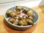 Jul med Crockpot- Brysselkål med fetaost och granatäppelkärnor